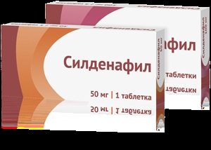 Sildenafil 50 mg: chemotherapie. Oncology